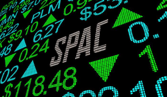SPAC Stock Market Exchange Ticker